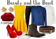 """""""Beauty and the Beast"""" by lalakay on Polyvore"""