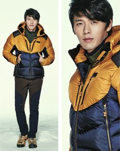 Hyun Bin Energizes Outdoors For K2's F/W 2013 Campaign | Couch Kimchi