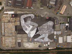 Ella & Pitr. El mural más grande del mundo