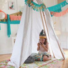 Chic Pow-Wow Birthday Party {Girl and Boy Birthday Theme Idea}