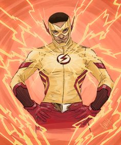 """badlemonade: """" I got myself all kinds of excited, and then I had to draw a Wally. """" Welp, I'm clearly not the only person who is extremely excited for Wally Kid Flash, Fastest Man, Young Justice, Man Alive, I Got This, Dc Comics, Fan Art, Drawings, Anime"""