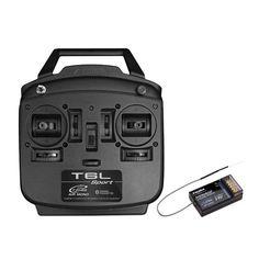 Futaba T6L Sport 2.4GHz 6CH T-FHSS Air RC Transmitter With R3106GF Receiver