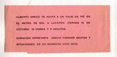 Alberto Greco VIVO DITO