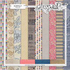 Blissfully Papers :: Papers :: Memory Scraps
