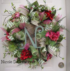 Custom order wedding by Nicole D Creations!