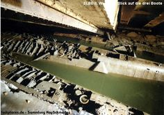 Early in 1940 the Germans realized the vulnerability of their open top U-Boat enclosures and decided to start building massive bunkers to guard their preci Naval History, Military History, Ww2 History, Abandoned Ships, Abandoned Places, Doomsday Bunker, St Nazaire, Pt Boat, German Submarines