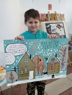 Ideas For Cool Art Projects For Kids Classroom Painting For Kids, Drawing For Kids, Art For Kids, Cool Art Projects, Projects For Kids, Jr Art, 3rd Grade Art, Ecole Art, Winter Crafts For Kids