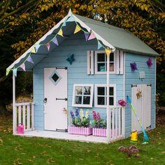 Shire 7X8 Crib Timber Playhouse   Departments   DIY at B&Q