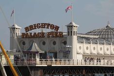 A day in Brighton UK is not complete without dropping in to Brighton Palace Pier Seaside Resort, Seaside Towns, Royal Pavilion, Brighton Uk, Outdoor Restaurant, Cruise Port, Cool Countries, Buy Tickets, Great View