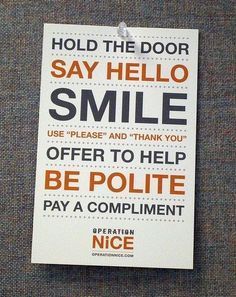 quotes+about+etiquette | good manners rock / inspiring quotes and sayings - Juxtapost