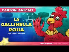 La Gallinella Rossa storie per bambini | Cartoni animati - YouTube Hansel Y Gretel, Italian Lessons, Snow Queen, Nursery Rhymes, Fairy Tales, Dads, Youtube, Videos, Estate