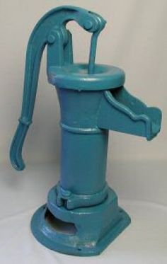 Kitchen Faucets Ideas - How-to with photos, showing how we installed hand-operated pitcher pumps in our home. Includes tools and supplies list, instructions, and analysis of hand pumps and our experience with them. Hand Pump Well, Old Water Pumps, Water Faucet, Rain Barrel, Water Garden, Garden Water Fountains, Outdoor Projects, Water Features, Container Gardening