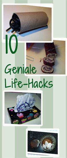 Diese Life-Hacks machen das Leben sooo viel leichter…