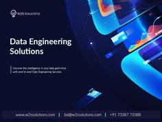 W2S Solutions provides a full set of #dataEngineeringServices and solutions for business enterprises that optimizes your analytics and assist accelerate the integration of analytics into business processes.  #DataAnalyticsSolutions #DataAnalysis Business Intelligence Solutions, Data Analytics, Application Development, Big Data, Full Set, Engineering, Learning, Technology, Education