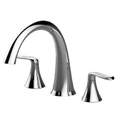PICCOLO™ ROMAN TUB FAUCET  The Piccolo™ Roman Tub Faucet has a classic design and will lend a perfect finishing touch to your bathroom.