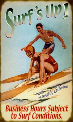 Oceanside, California Travel Poster