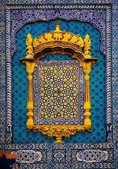 True Blue, Sachal | Khairpur, Pakistan (by Agha Waseem Ahmed)