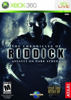 The Chronicles of Riddick Assault on Dark Athena  Xbox 360 by Atari * Want additional info? Click on the image. Note:It is Affiliate Link to Amazon.