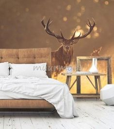 Master Bedroom, Bedroom Decor, The Hamptons, Wall, Furniture, Home Decor, Houses, Deer, Tapestry