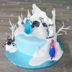 How to make a Frozen Cake - Advanced
