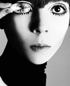 Penelope Tree, circa 1960's Photographer: Richard Avedon