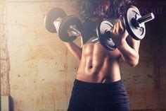 Гимнастика с гантелями для женщин: упражнения в домашних условиях