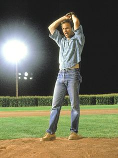Field of Dreams (1989)  Kevin Costner, James Earl Jones, Ray Liotta - Director: Phil Alden Robinson IMDB: An Iowa corn farmer, hearing voices, interprets them as a command to build a baseball diamond in his fields; he does, and the Chicago Black Sox come.