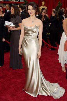 Rachel Weiz - Oscars 2007  Vera Wang