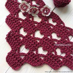 Punto de Crochet – Corazón – Paso a paso puntos de ganchillo | Comando Craft