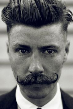 Maybe the one reason I'd like to be a man. Oh... The facial hair possibilities.