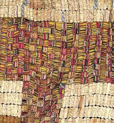 Between Earth and Heaven El Anatsui, aluminum, copper wire