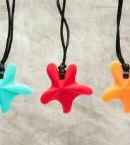 Starfish Pendants... teething bling