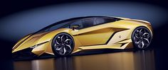 "LAMBORGHINI CONCEPT CAR "" RESONARE "" by Paul Czyzewski on Behance"