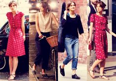 "I L.O.V.E every single outfit on Keira Knightley in the movie ""Begin Again"". (collage not made by me). Read my opinion about the movie: http://frkmoehge.bloggersdelight.dk/2014/08/forelsket-i-new-york-begin-again/"