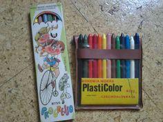 farbičky Retro 1, Childhood, Memories, Vintage, School, Nostalgia, Memoirs, Infancy, Souvenirs