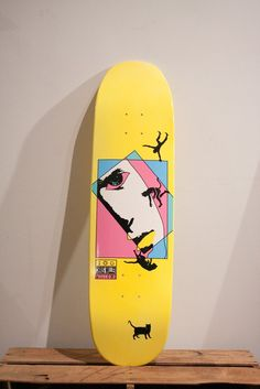 "Welcome skateboards - Chris Miller ""Faces"" on Catblood"