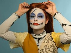 Rag doll makeup idea for halloween   Disfraces   Pinterest   Rag ...