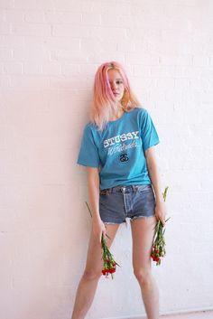 http://valeriephillips.tumblr.com #valerie phillips #Arvida Byström #stussy