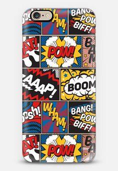 Modern Comic Book Superhero Pattern Casetify iphone 6s case cover Designs are © Season of Victory. geo, postmodern, memphisdesign, scandinavian, primary, black, stripes, scandi, modern art, modern, cartoon comic abstract comics superhero, lichtenstein, contemporary, popart, 80s, simple, memphis, circle, pastel, comic, comicbook, cartoon, pop, popart, pop art, boom, pow, zap, wham, pow, bam, bang, superhero, superheroes, marvel, color, colour, kawaii, anime, retro, modern, geometric anime