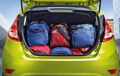 New Fiesta Hatch - Porta-malas com capacidade para 287L