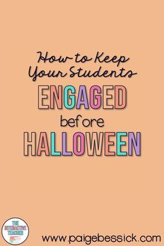 Just add a pumpkin! How to keep your students engaged before Halloween with a pumpkin investigation, a blog post. That time before and after Halloween can get a little crazy. Embrace it by doing a pumpkin investigation that teaches math, science and corporation. The post explains everything you need to complete an investigation, just add the pumpkin! Includes tips to make it go smoothly and mini-book resource your students can complete. Perfect for first grade. #halloween #firstgrade