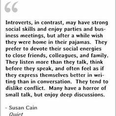 Hashtag #introvert sur Twitter