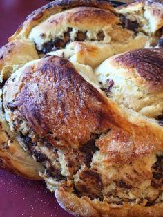 O Clube do Bolinho: Pão de baunilha e chocolate
