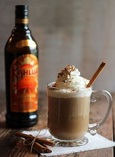 #DRINKRECIPE - Kahlua Pumpkin Spice Coffee