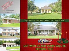 NOW PENDING!  #houses for sale in Denham Springs  #homes for sale in Denham Springs  www.agent225.com