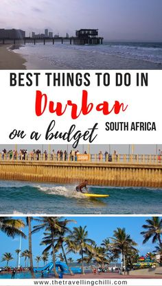 south africa travel - 26 Top things to do in Durban under Cool Places To Visit, Places To Travel, Travel Destinations, Travel Guides, Travel Tips, Travel Articles, Travel Hacks, Travel Advice, Travel Couple