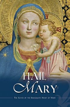 Hail Mary Book by Mancipia Press. Beautiful and simple explanation of the basic Catholic Marian prayer and related devotions. A must-have for every Catholic library! Catholic Books, Catholic Gifts, True Devotion To Mary, Greg Olsen, Mormon Temples, Religion Catolica, Holy Mary, Blessed Mother, Religious Art