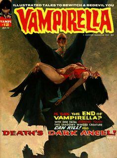 VAMPIRELLA #12 Cover Art - Sanjulian