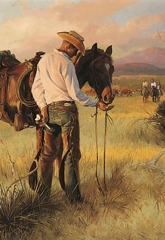 WIDE-OPEN WEDNESDAYS compliments of the Museum and Oklahoma Ford Dealers! You get FREE Admission to the National Cowboy & Western Heritage Museum. 14 anytime from 10 a. to 5 p. Cowgirl And Horse, Cowboy Art, Western Cowboy, Westerns, West Art, Cow Girl, Le Far West, Mountain Man, Equine Art