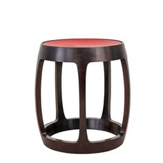 Originally, drum stool is a traditional furniture form, whose unique shape won aesthetic recognition in ancient times. This drum stool can be regarded as the spokesman of neo-Chinese furniture with a new image: ele. Antique Chinese Furniture, Asian Furniture, Oriental Furniture, Vintage Furniture, Furniture Design, Chinese Drum, Chinese Interior, Leather Dining Room Chairs, Leather Chairs